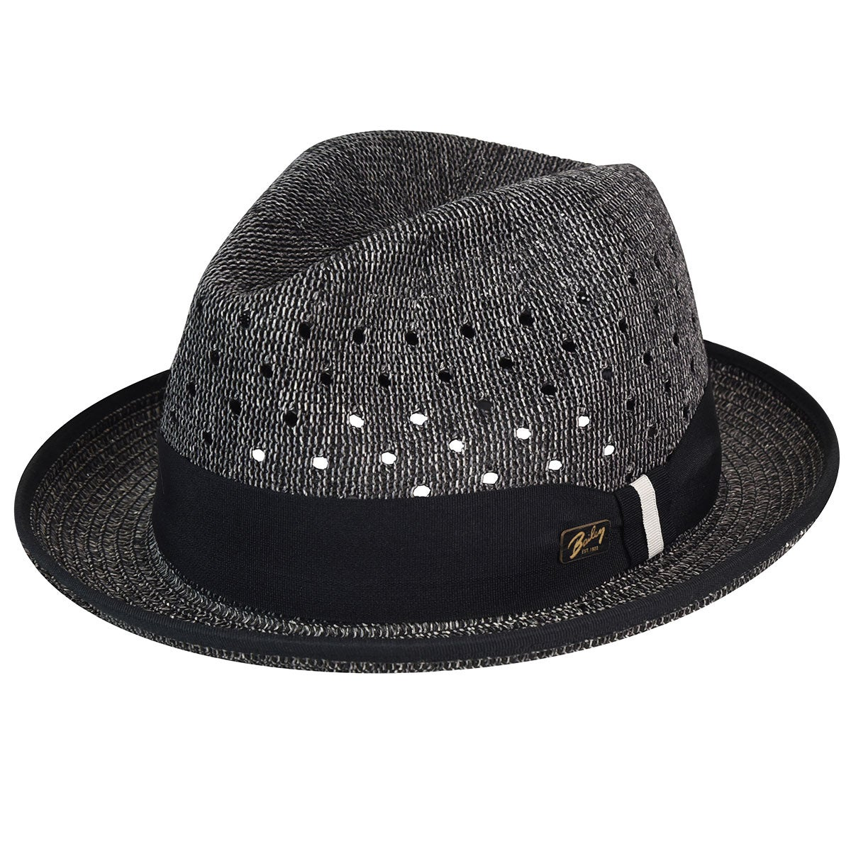 Bailey of Hollywood Bascom Trilby in Black Heather