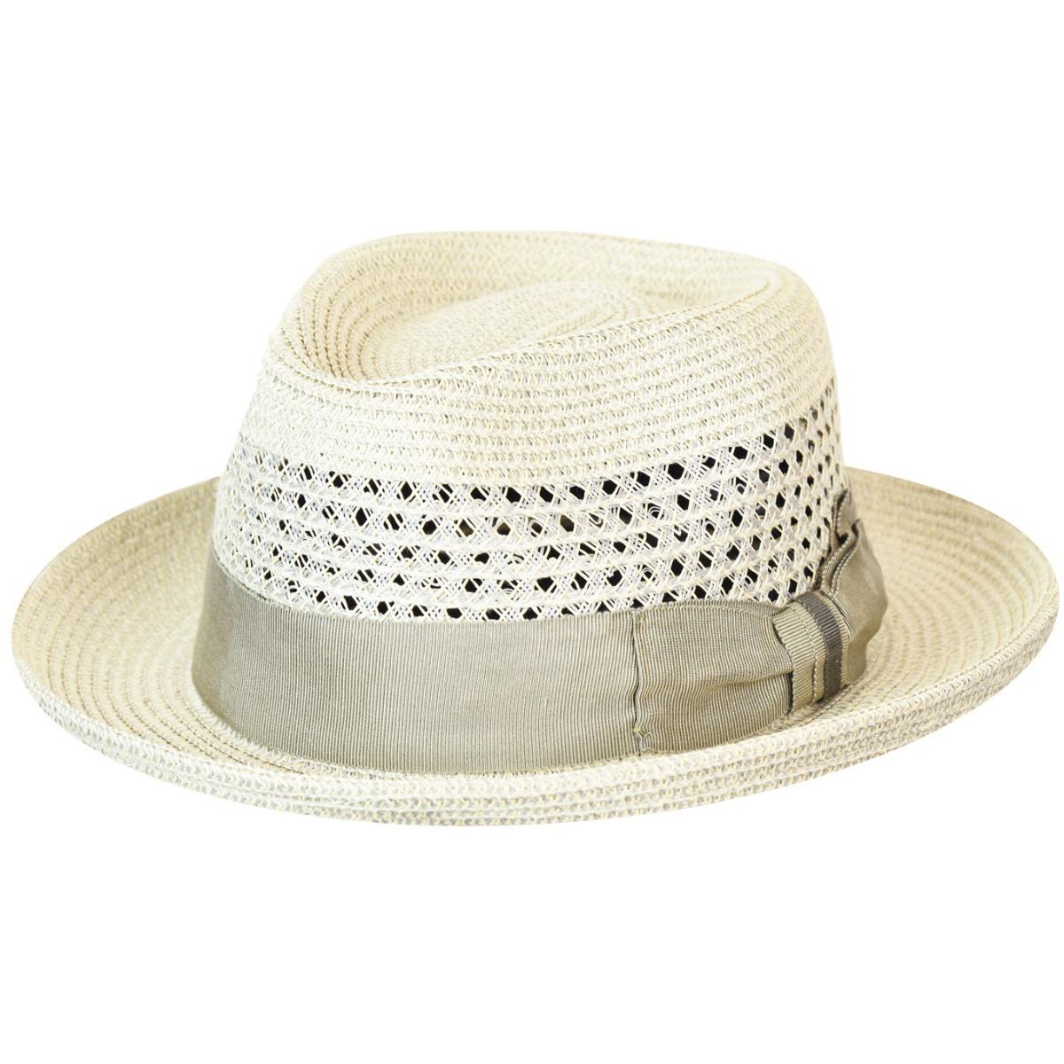 1940s Mens Hats | Fedora, Homburg, Pork Pie Hats Wilshire Braided Fedora $80.00 AT vintagedancer.com