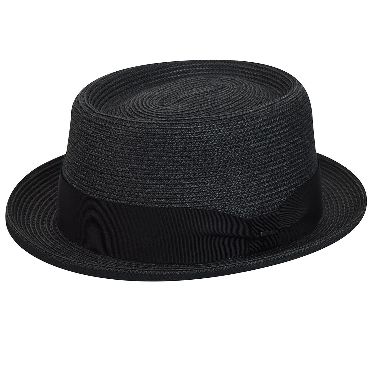 1940s Mens Hats | Fedora, Homburg, Pork Pie Hats Waits Braided Pork Pie $80.00 AT vintagedancer.com