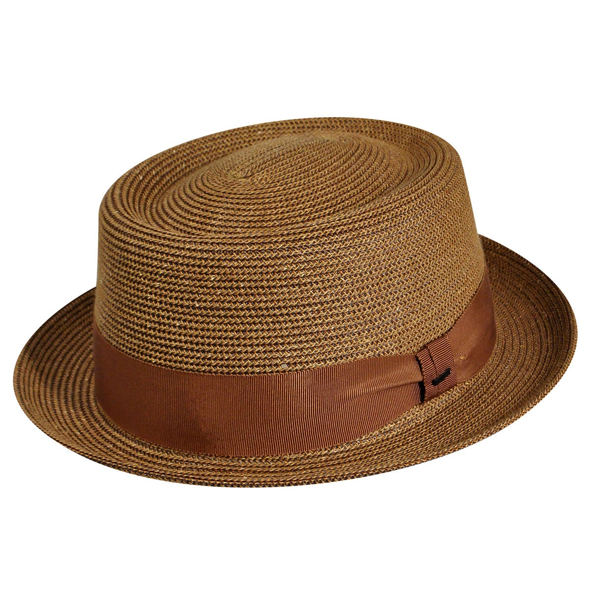 1950s Mens Hats | 50s Vintage Men's Hats Waits Braided Pork Pie $80.00 AT vintagedancer.com