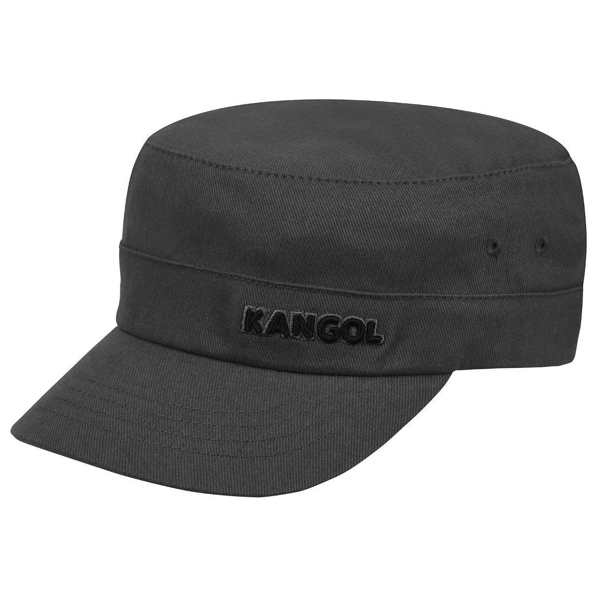 Kangol Cotton Twill Army Cap in Grey