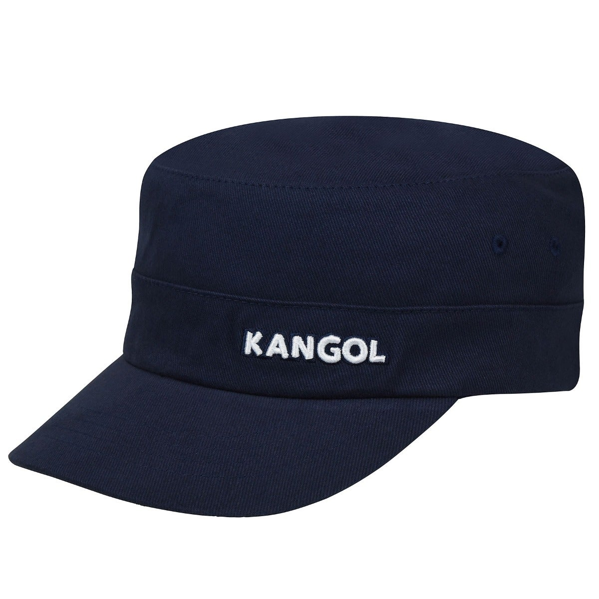 Kangol Cotton Twill Army Cap in Navy