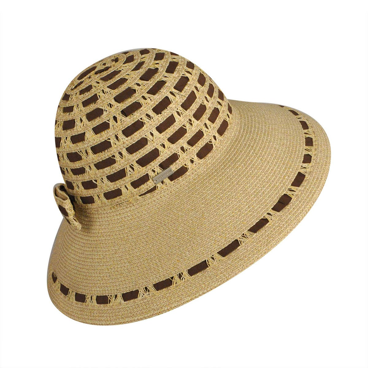 Niki Wide Brim Floppy Hat $40.00 AT vintagedancer.com