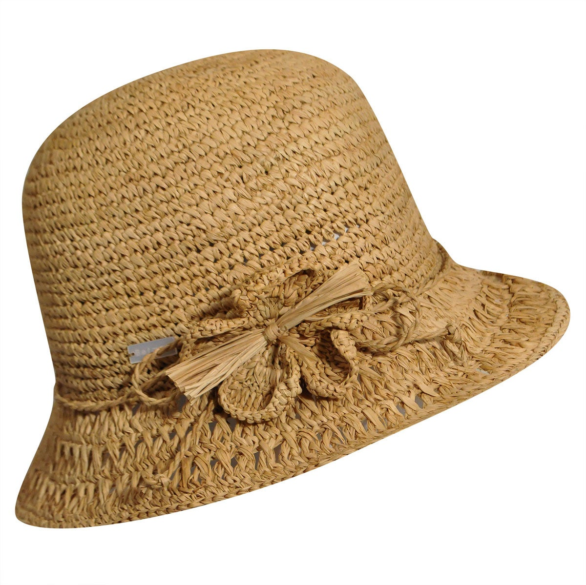 1930s Style Hats – New Vintage Inspired Designs Orianna Straw Cloche $70.00 AT vintagedancer.com