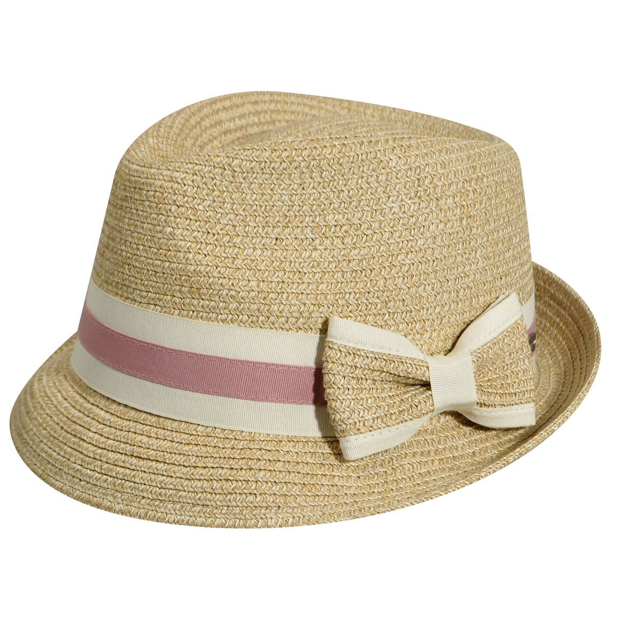 1920s Hat Styles for Women – History Beyond the Cloche Hat Joanne Braided Trilby - Natural1SFM $29.25 AT vintagedancer.com