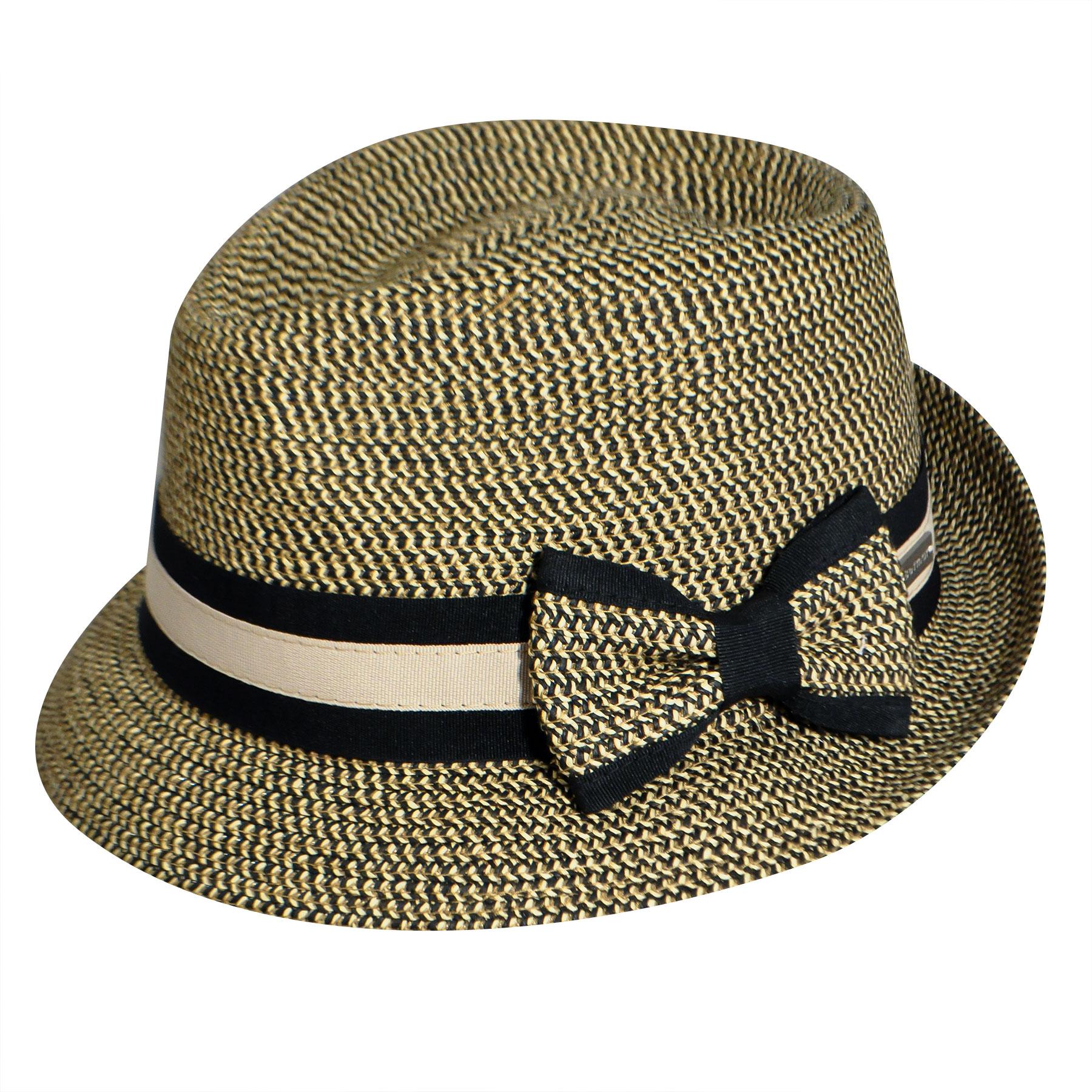 1920s Fashion & Clothing | Roaring 20s Attire Joanne Braided Trilby - Rattlesnake1SFM $29.25 AT vintagedancer.com