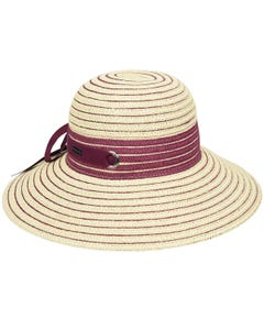 Jasmine Braided Wide Brim Hat
