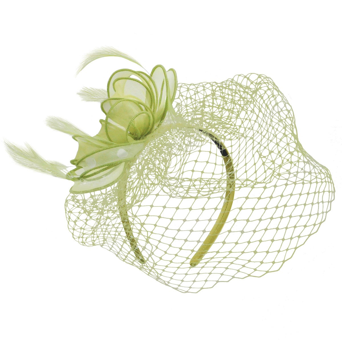 1940s Style Hats Maree Fascinator $30.00 AT vintagedancer.com