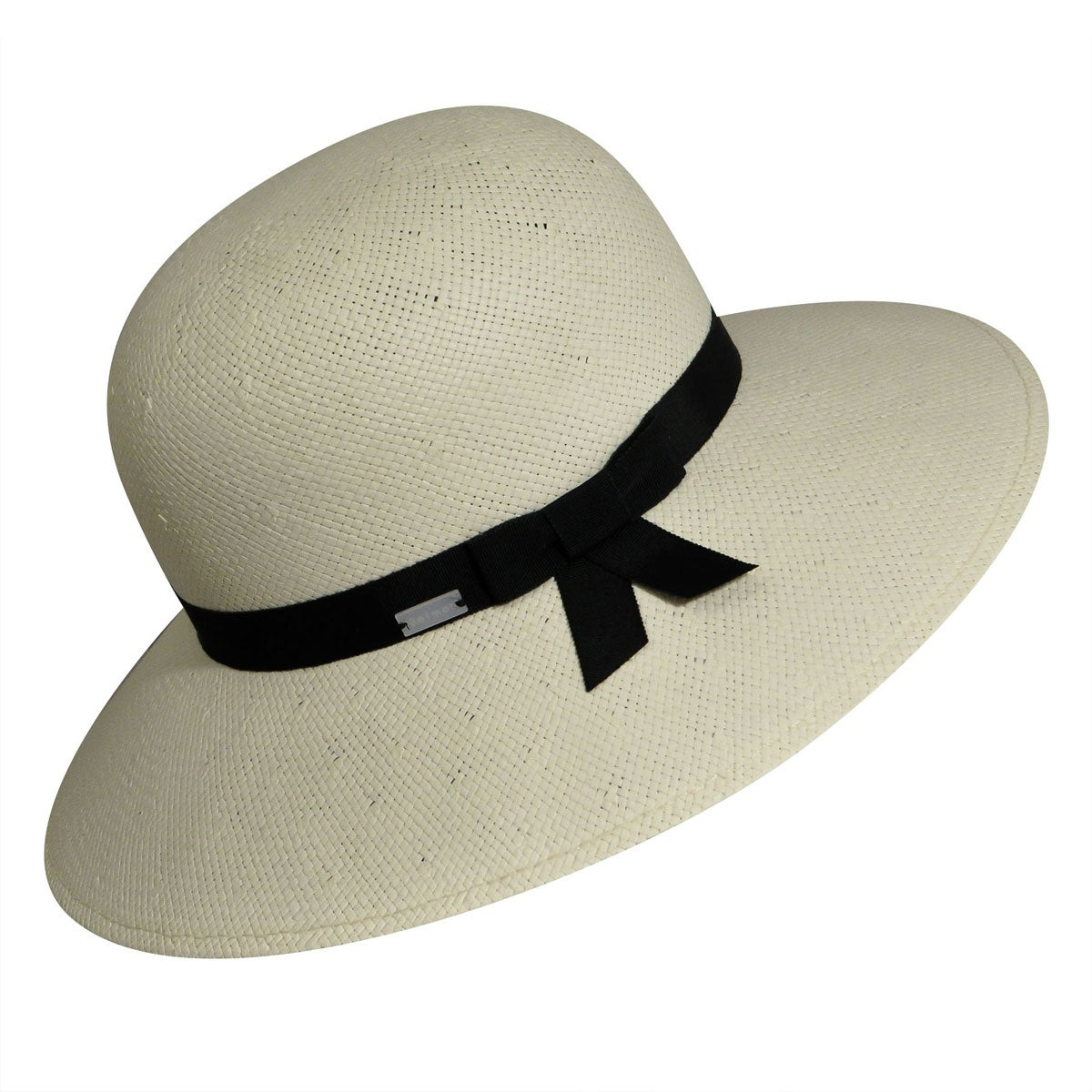 1940s Hats History Aurora II Straw Wide Brim Hat $80.00 AT vintagedancer.com