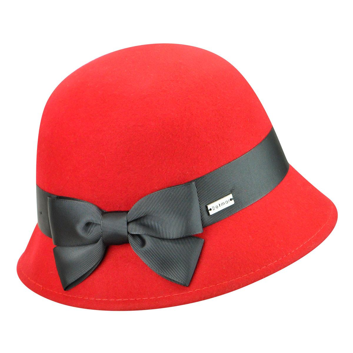 1920s Hat Styles for Women- History Beyond the Cloche Hat Emma Wool Felt Cloche $50.00 AT vintagedancer.com