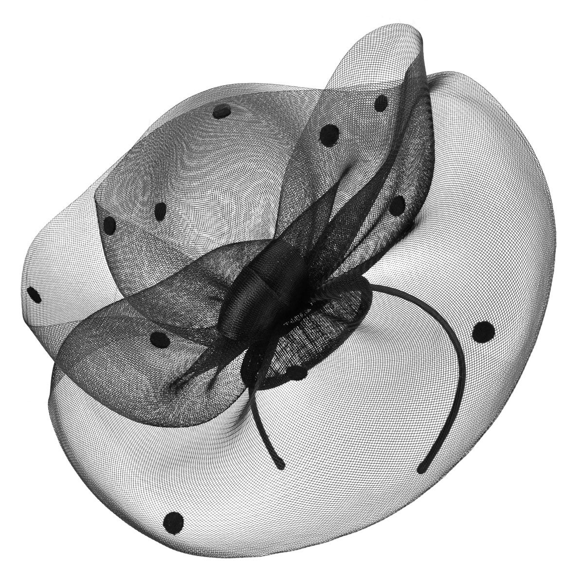 Tea Party Hats – Victorian to 1950s Josephina Fascinator $38.00 AT vintagedancer.com