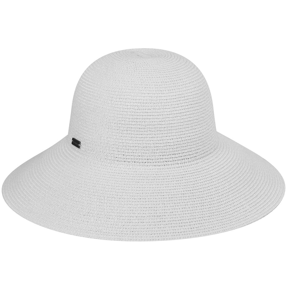 Gossamer Wide Brim Hat - White/1SFM