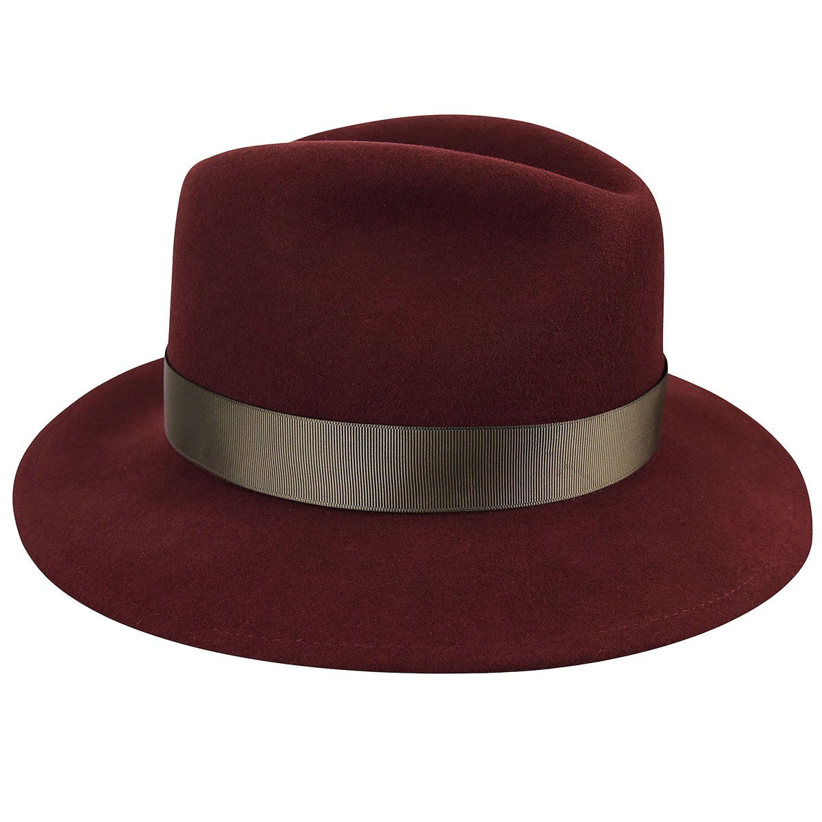 1940s Hats History Sawyer Fedora $93.00 AT vintagedancer.com
