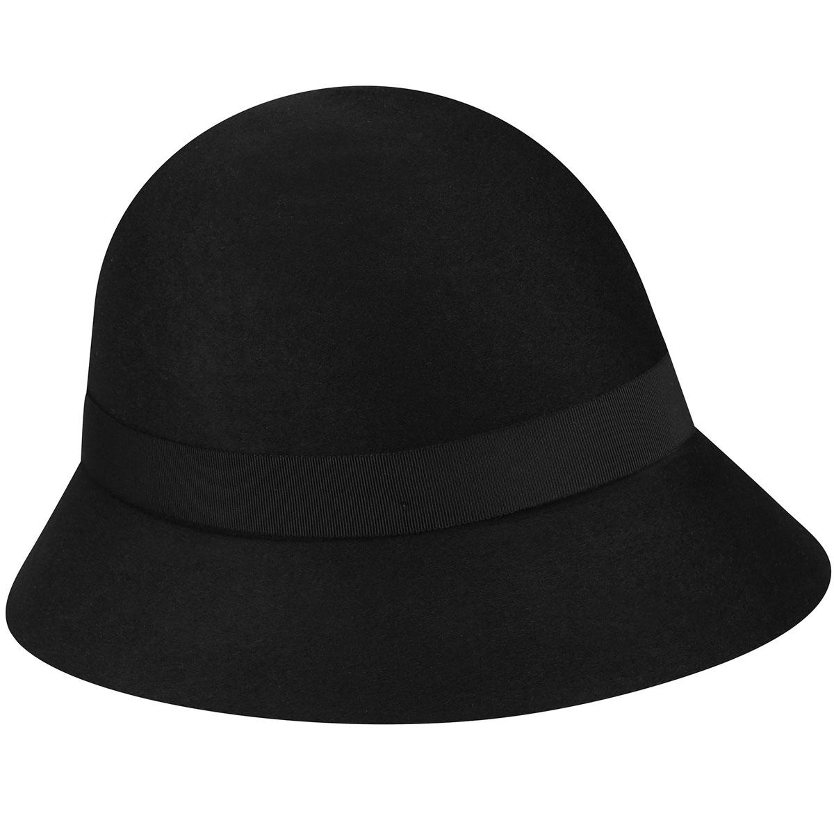 Betmar Barton Cloche in Black