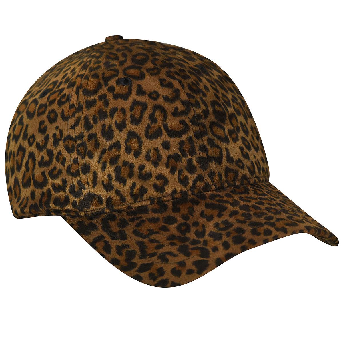 Betmar Leopard Baseball Cap in Leopard