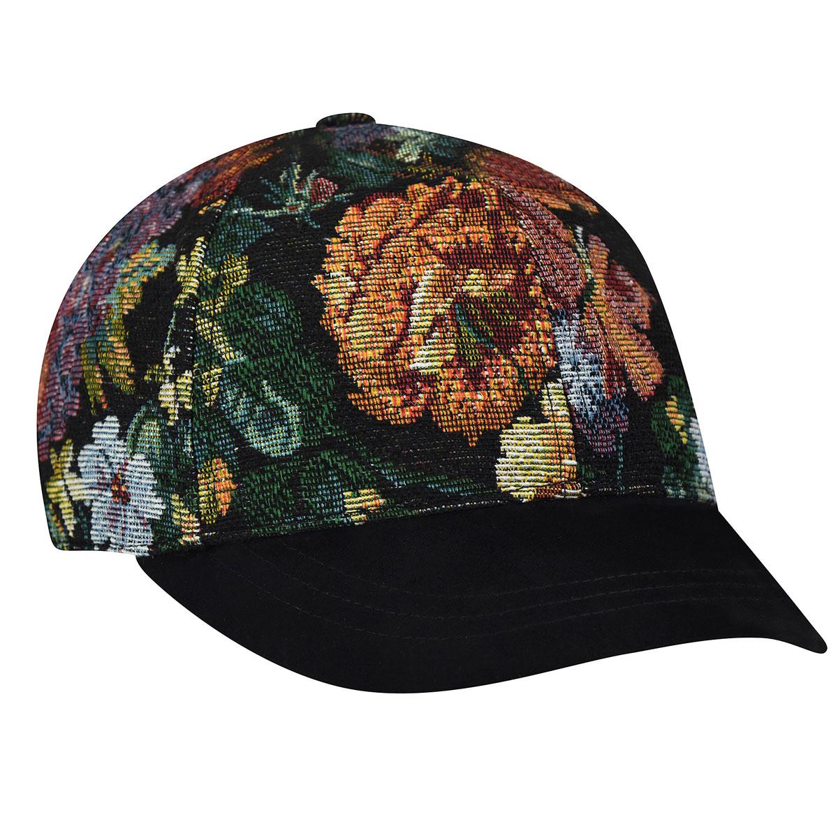 Betmar Floral Baseball Cap in Floral Multi
