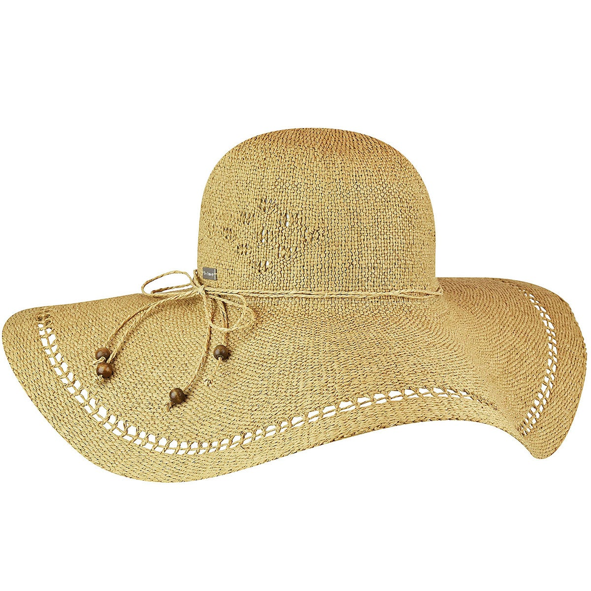 Betmar Abbey Wide Brim Hat in Honey