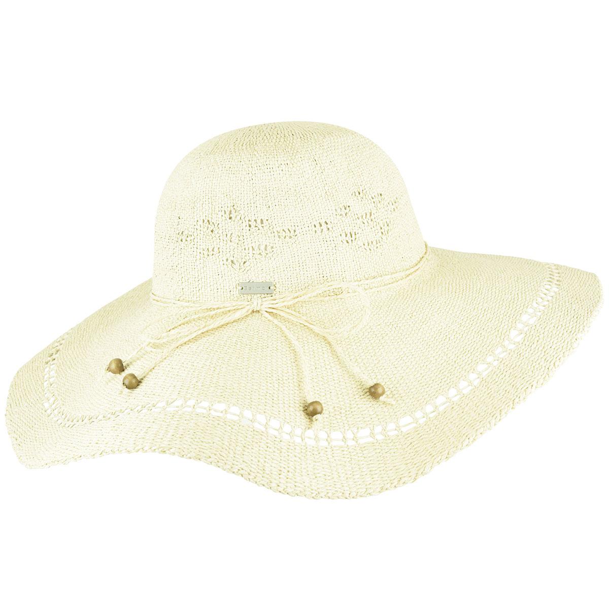 Betmar Abbey Wide Brim Hat in Linen