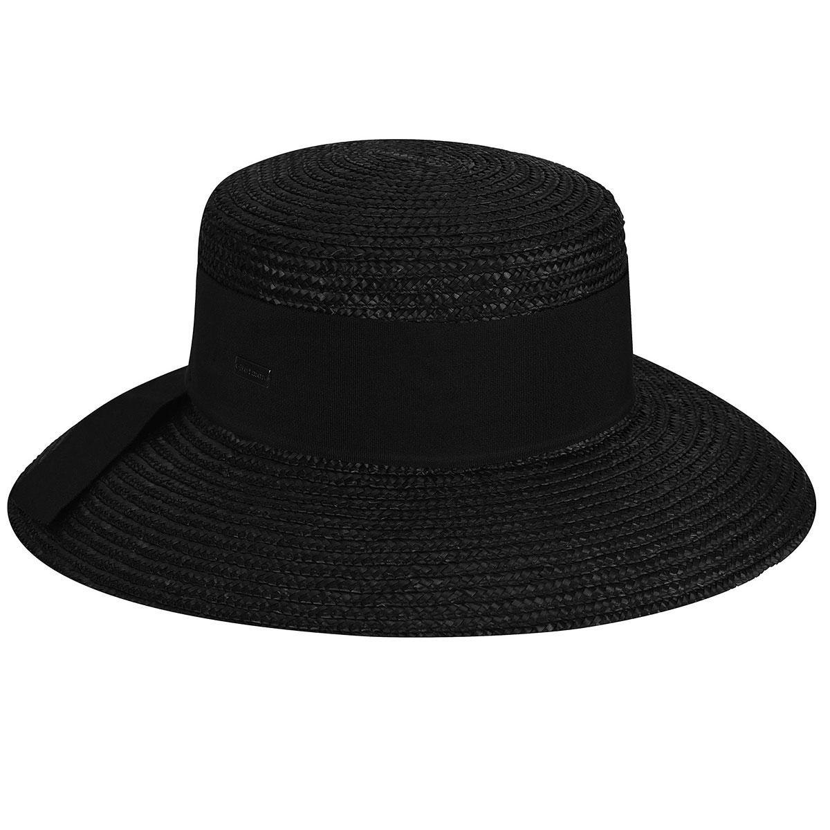 Women's Vintage Hats | Old Fashioned Hats | Retro Hats Riviera Wide Brim Boater $39.00 AT vintagedancer.com