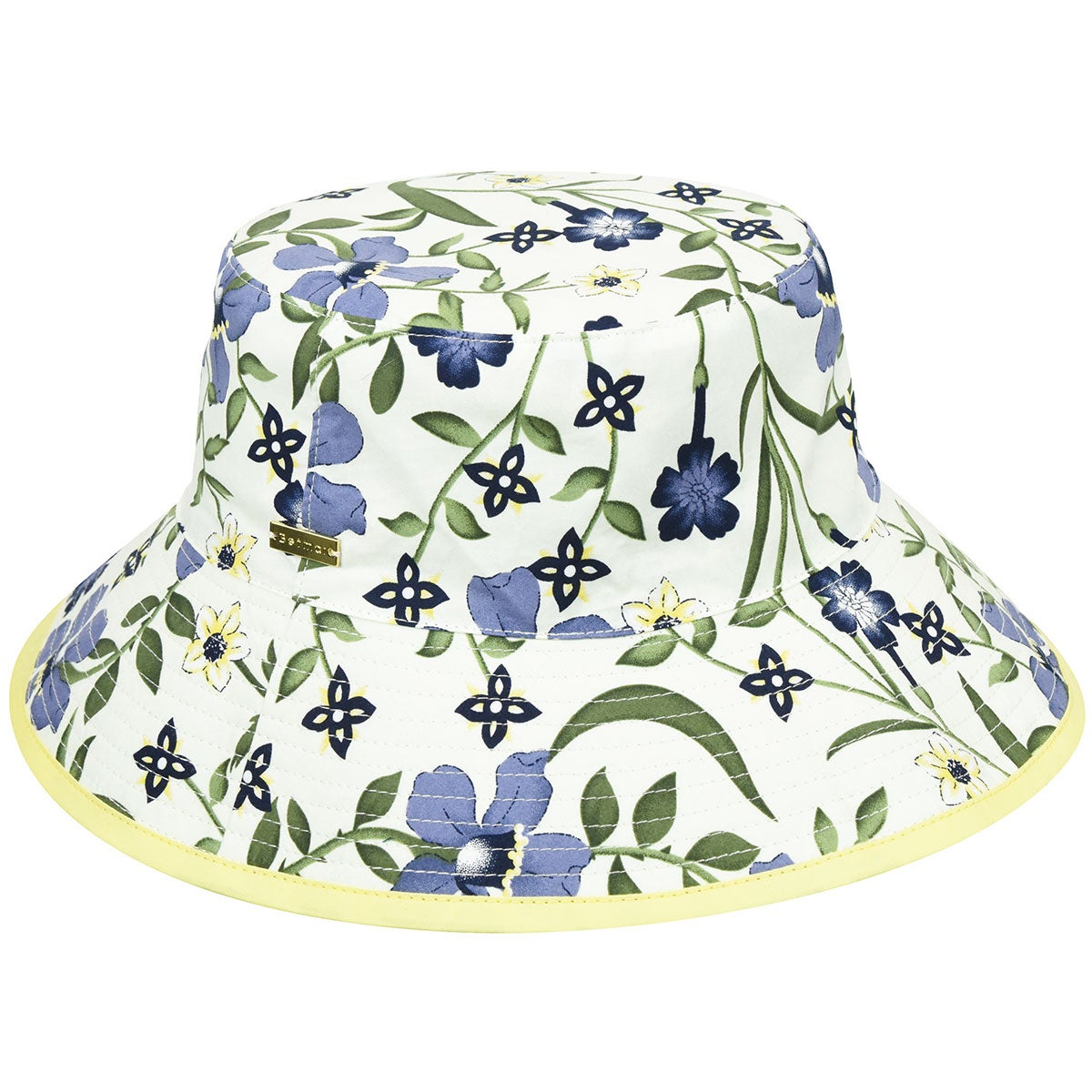 Betmar Florence Bucket in White,Floral