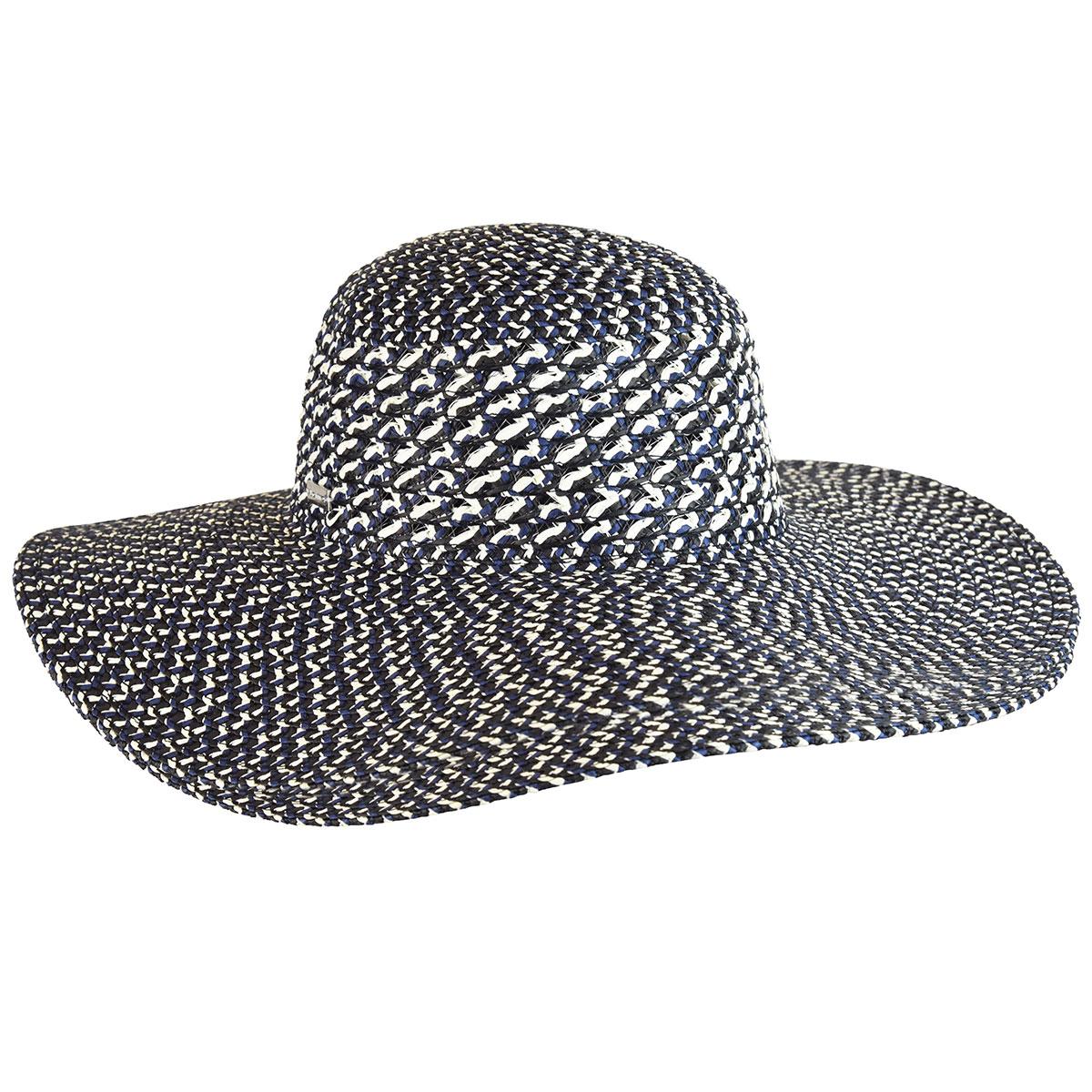 Alice Wide Brim Hat - Black Multi/1SFM