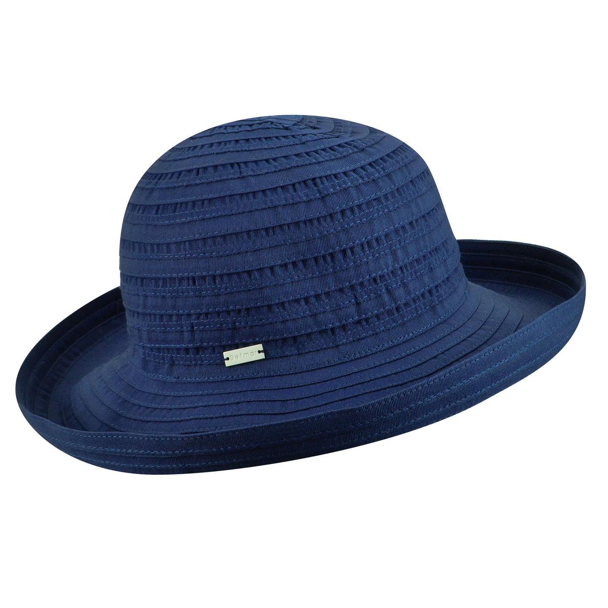 Betmar Classic Sunshade Hat in Navy