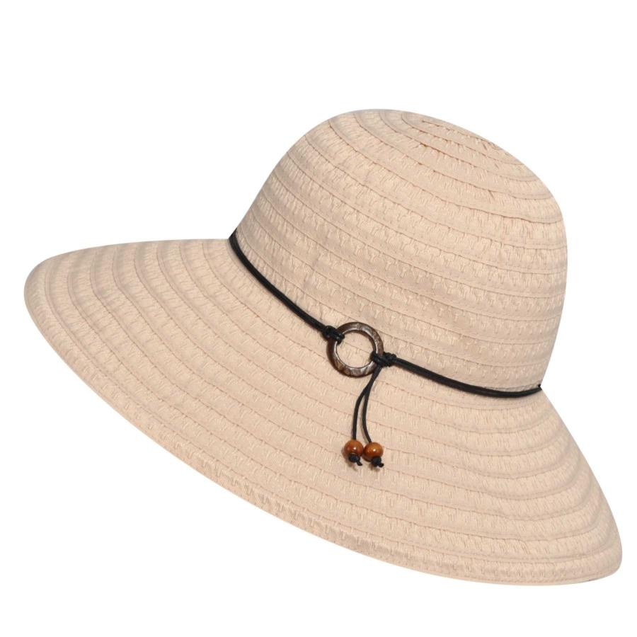 Betmar Coconut Ring Safari Hat in Natural