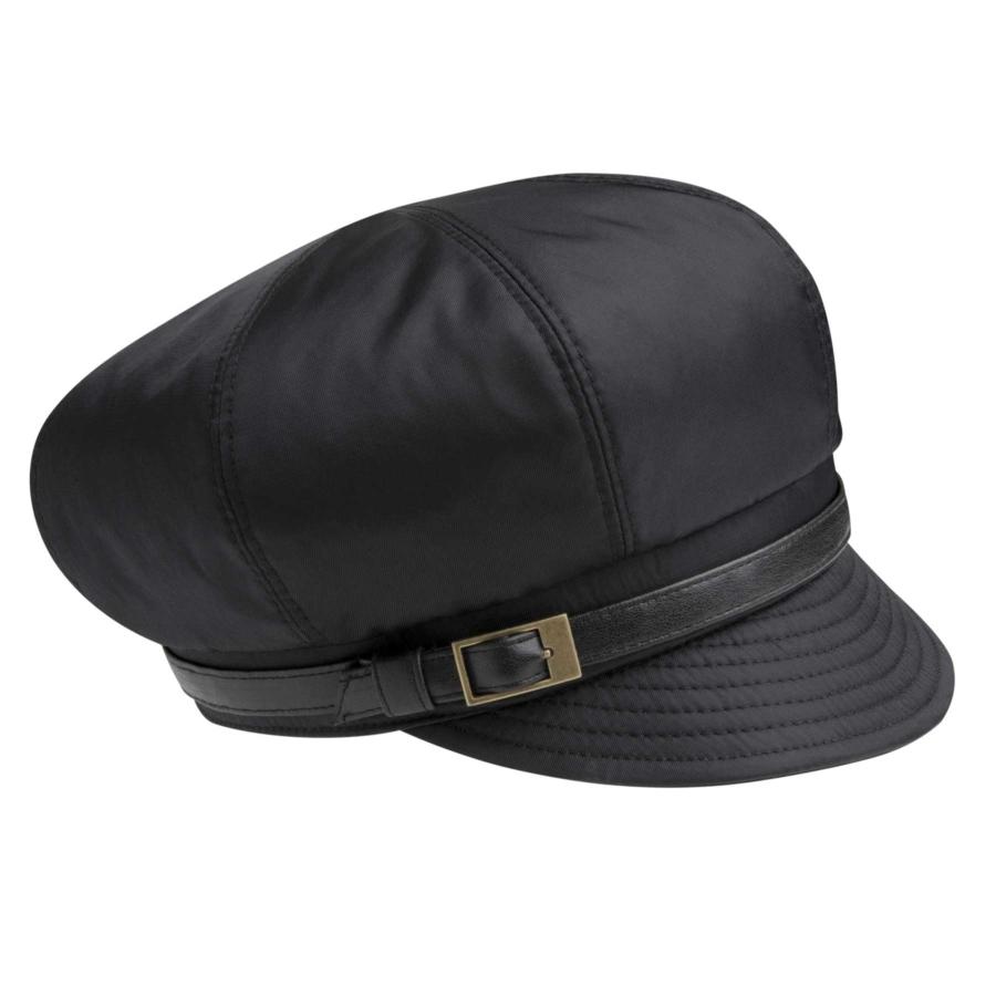 Betmar Fern Rain Cap in Black