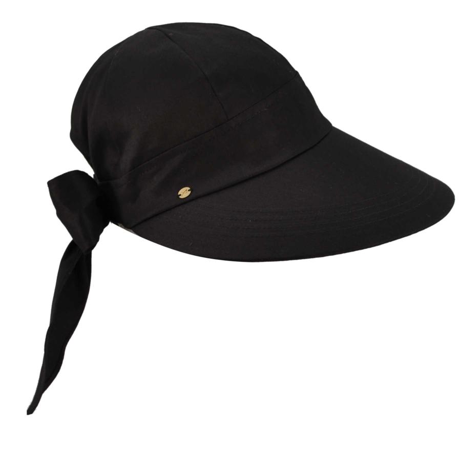 Betmar Face Framer Cap in Black