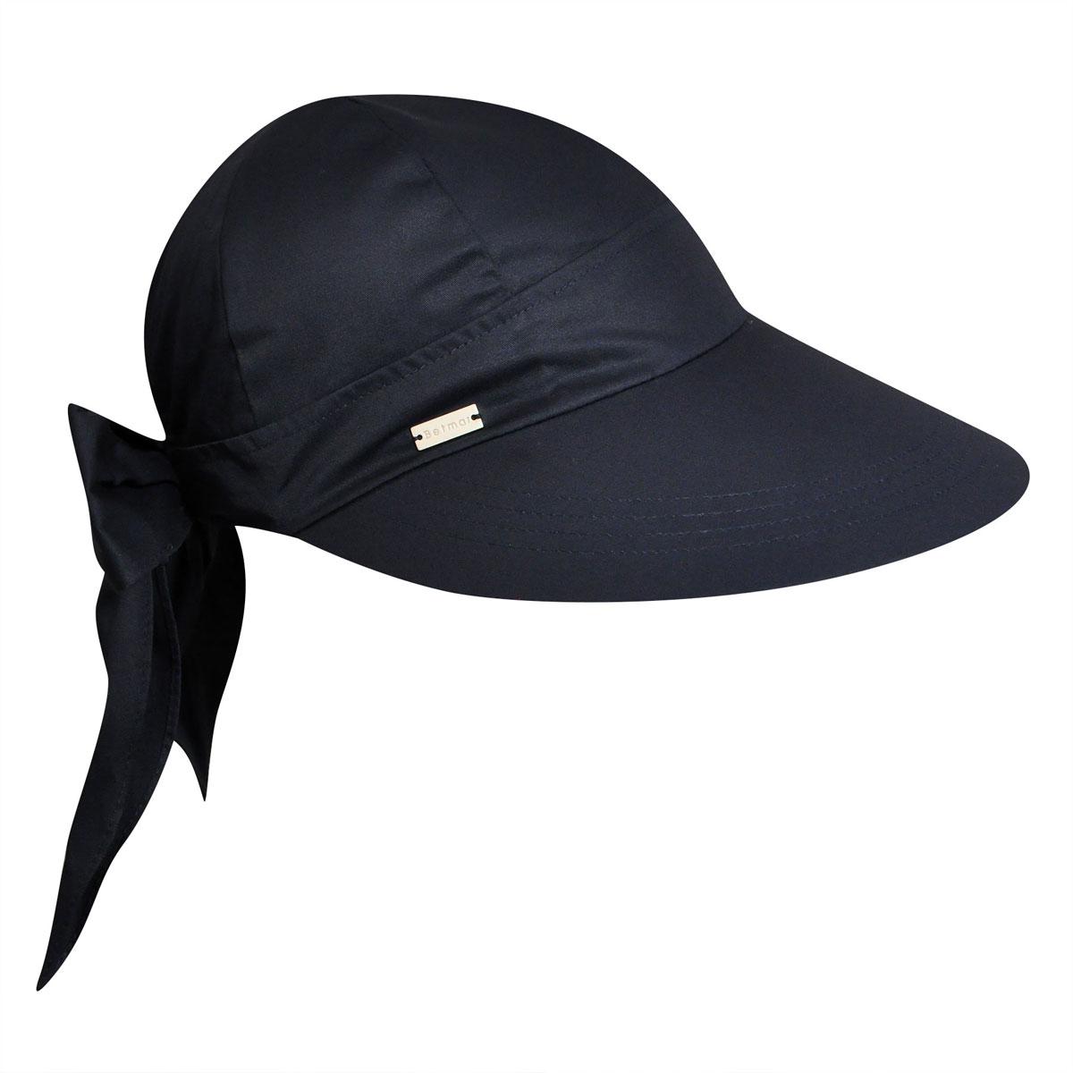 Betmar Face Framer Cap in Navy