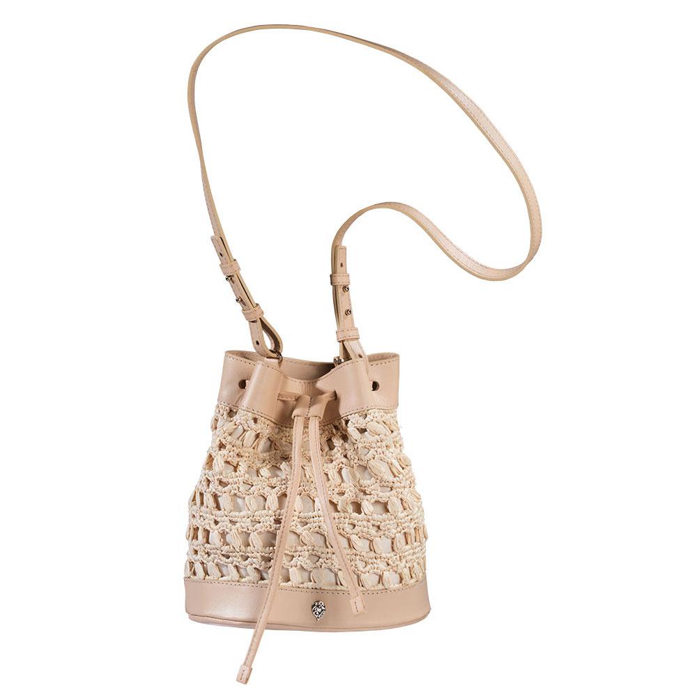Helen Kaminski Barbados Bucket Bag in Natural,Nude