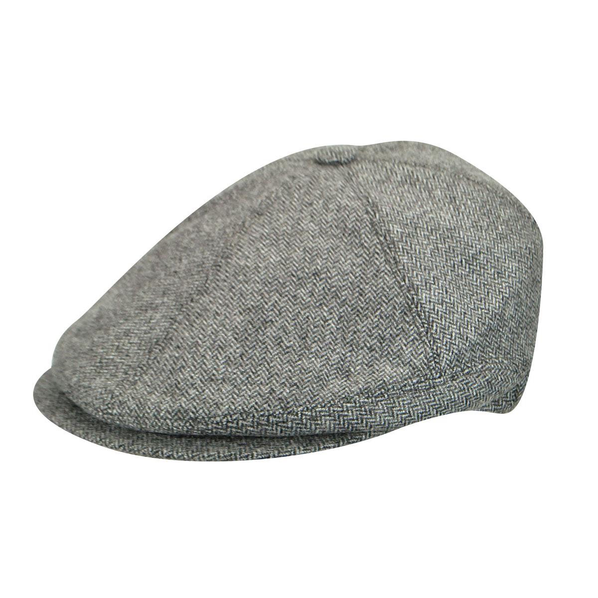 BB150500047 Wool Newsboy Cap $125.00 AT vintagedancer.com