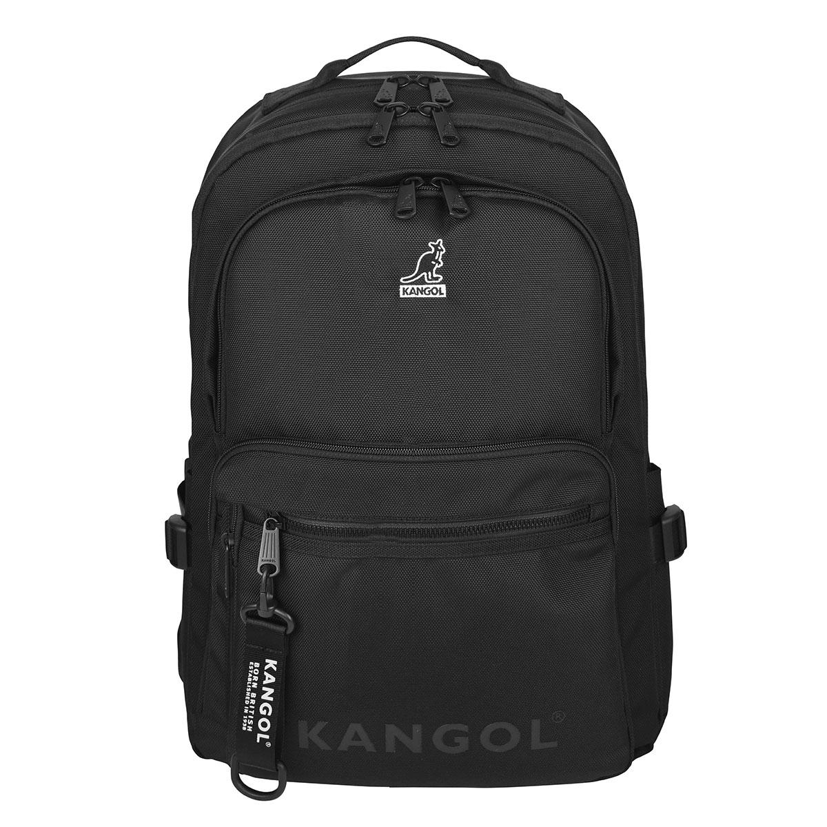 Kangol Kangol Embroidered Backpack in Black