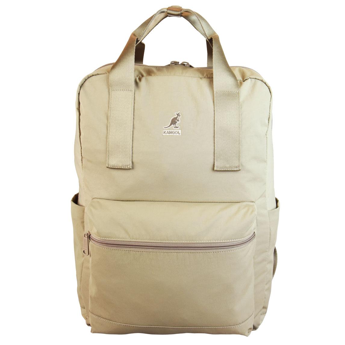 Kangol Kangol Nylon Travel Backpack in Beige