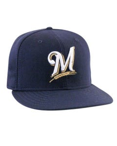 Milwaukee Brewers Authentic Baseball Hat