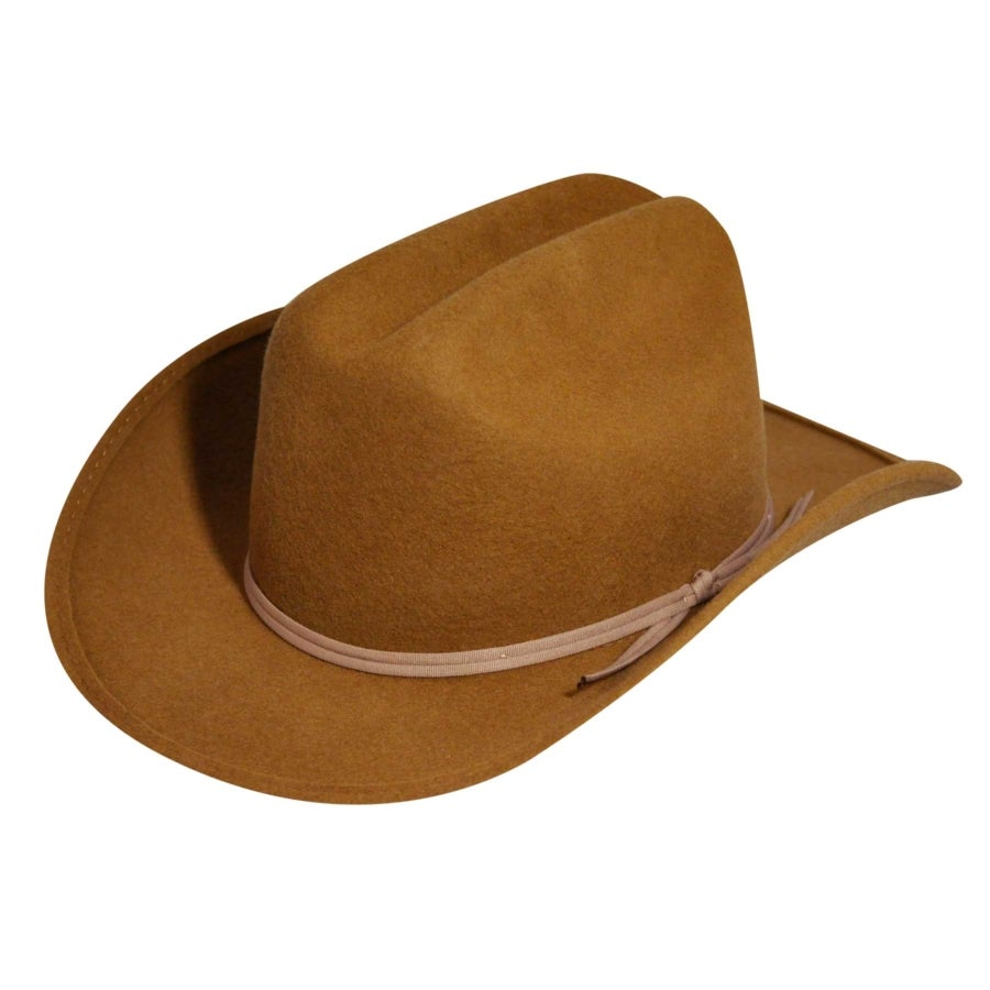 Eddy Bros. Bronco Jr. Hat in Pecan