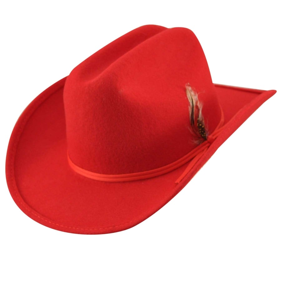 Eddy Bros. Bronco Jr. Hat in Red