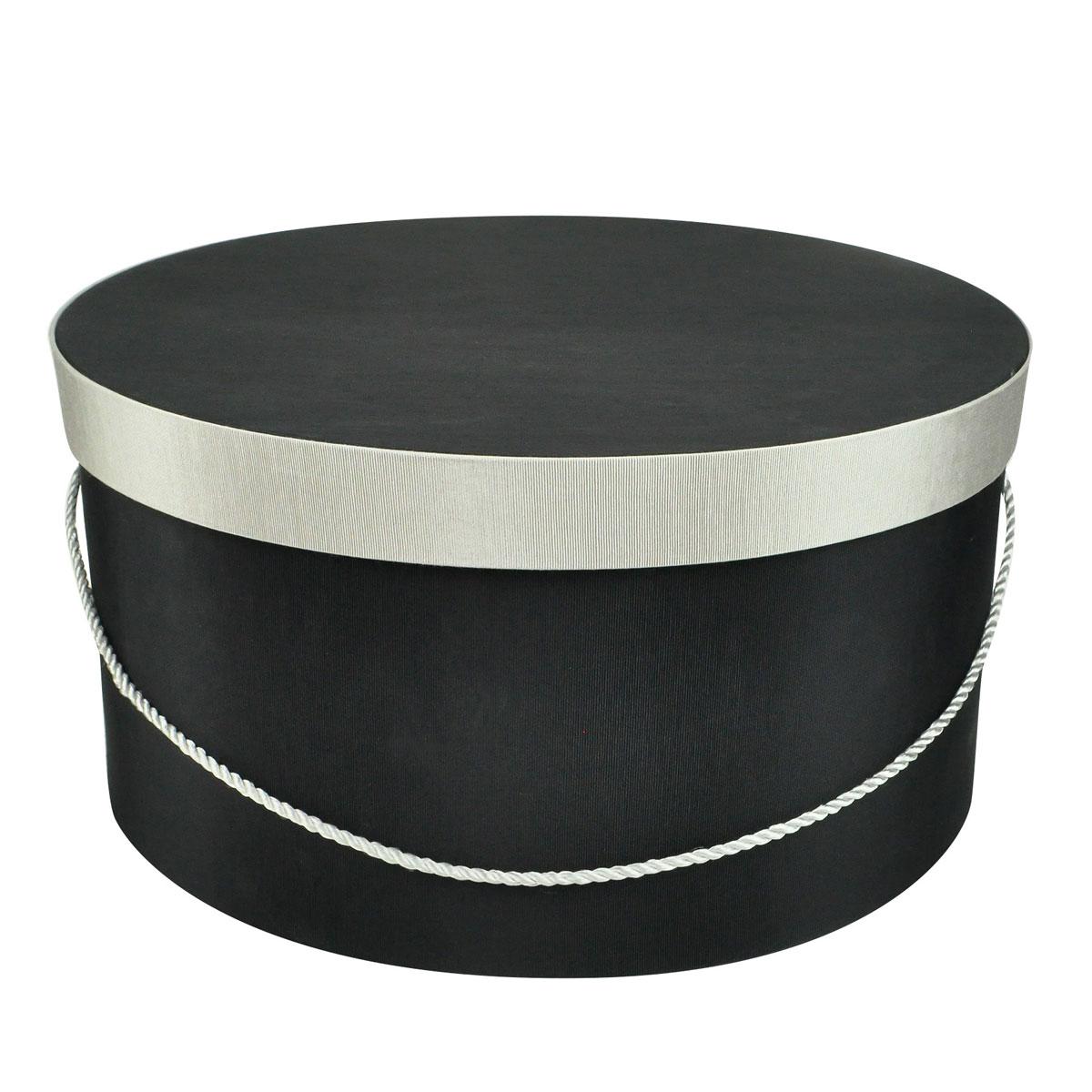 Retro Vintage Style Hats Small Round Hatbox $65.00 AT vintagedancer.com