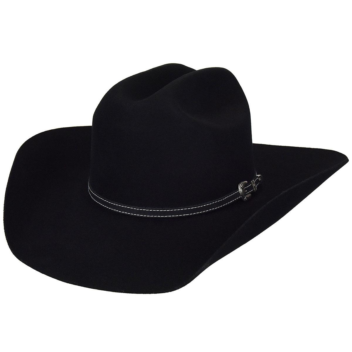 Traveller 2X Western Hat - Black/6 5/8