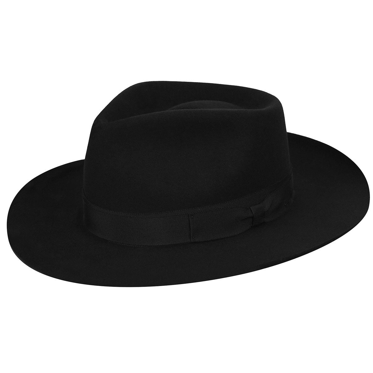 1940s Mens Hat Styles and History Bankside Elite Fedora $160.00 AT vintagedancer.com