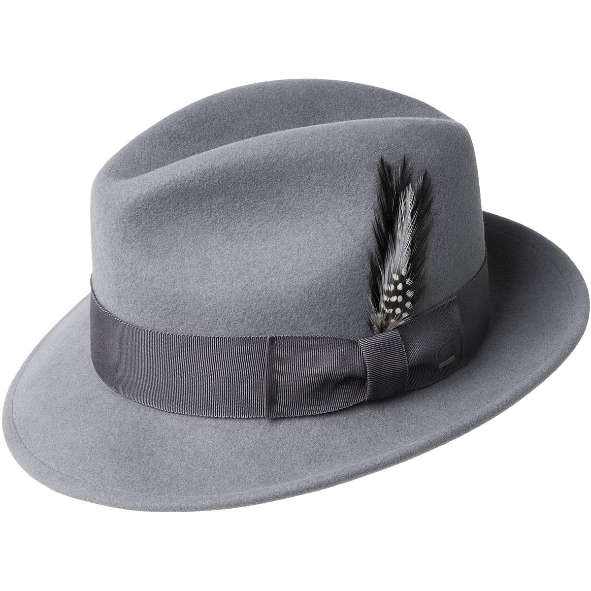 1950s Mens Hats | 50s Vintage Men's Hats Blixen Limited Edition Fedora $98.00 AT vintagedancer.com