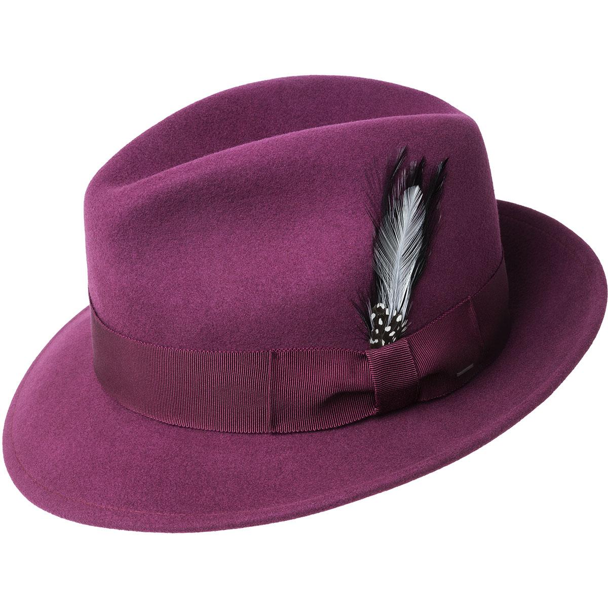 1960s – 70s Style Men's Hats Blixen Limited Edition Fedora $98.00 AT vintagedancer.com
