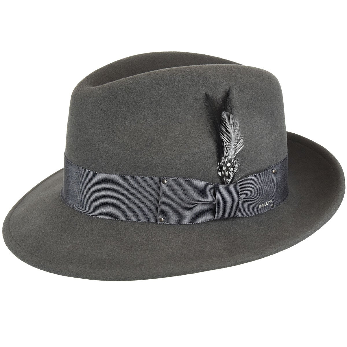 1940s Mens Hats | Fedora, Homburg, Pork Pie Hats Blixen LiteFelt Fedora $73.50 AT vintagedancer.com