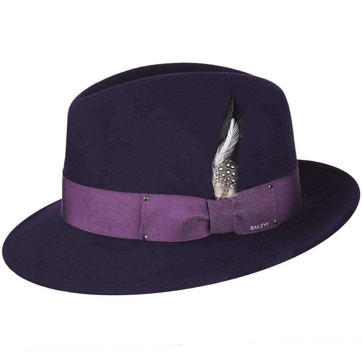 Men's Vintage Style Hats, Retro Hats Blixen LiteFeltFedora $77.25 AT vintagedancer.com