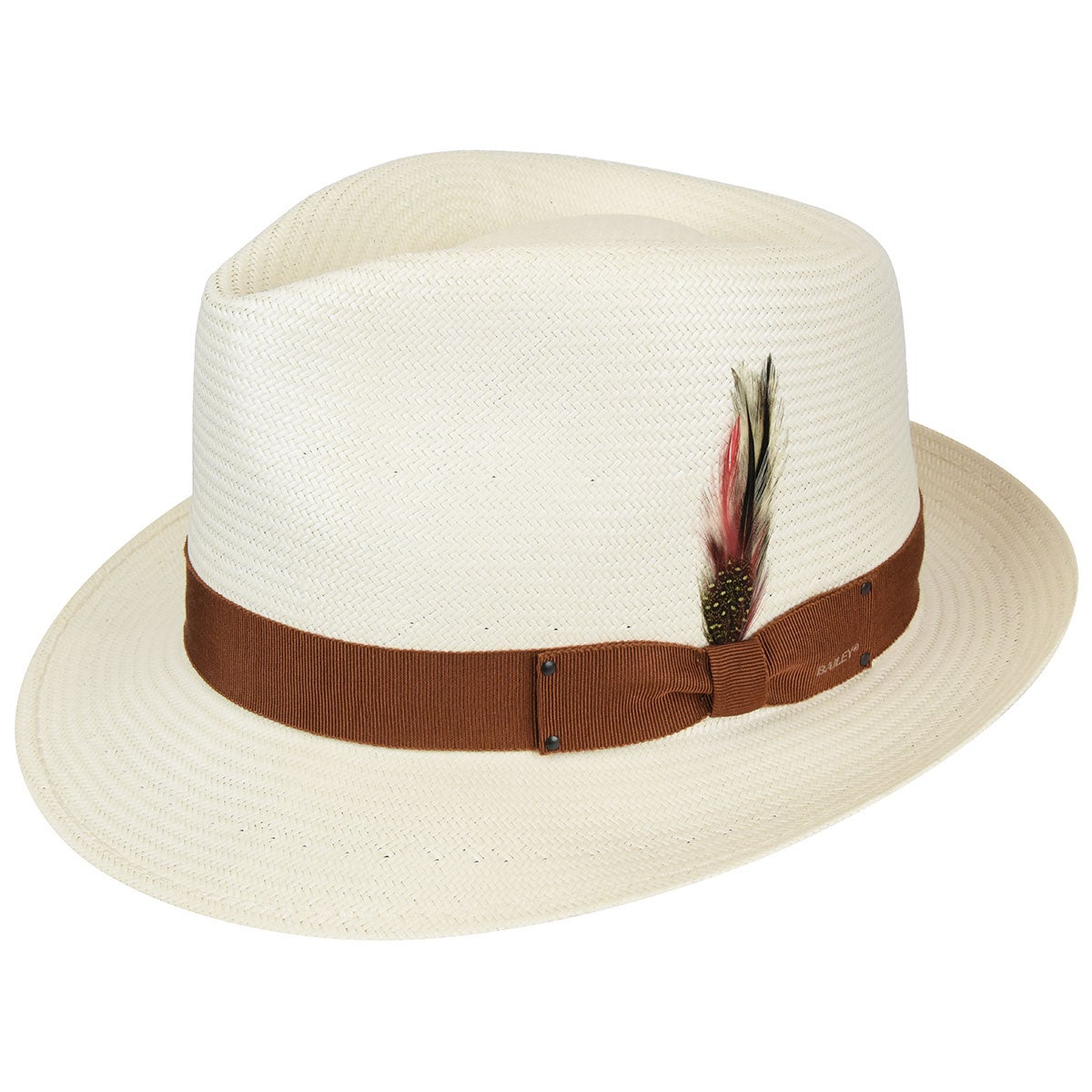 1940s Men's Fashion, Clothing Styles Guthrie Litestraw Fedora $130.00 AT vintagedancer.com
