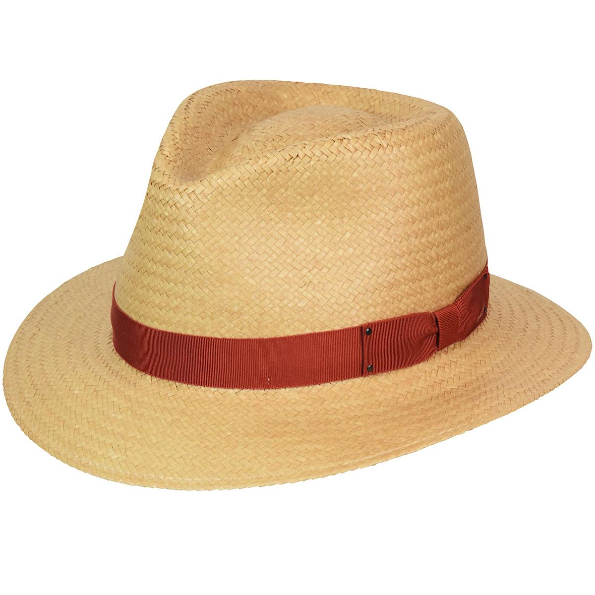1940s Mens Hats | Fedora, Homburg, Pork Pie Hats Spencer LiteStrawFedora $85.00 AT vintagedancer.com