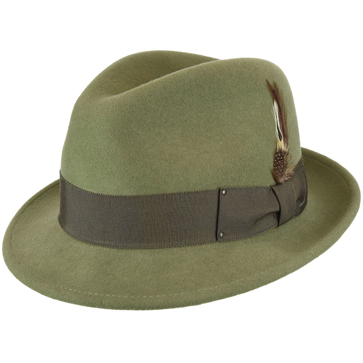1960s – 70s Style Men's Hats Tino LiteFelt Fedora $100.00 AT vintagedancer.com