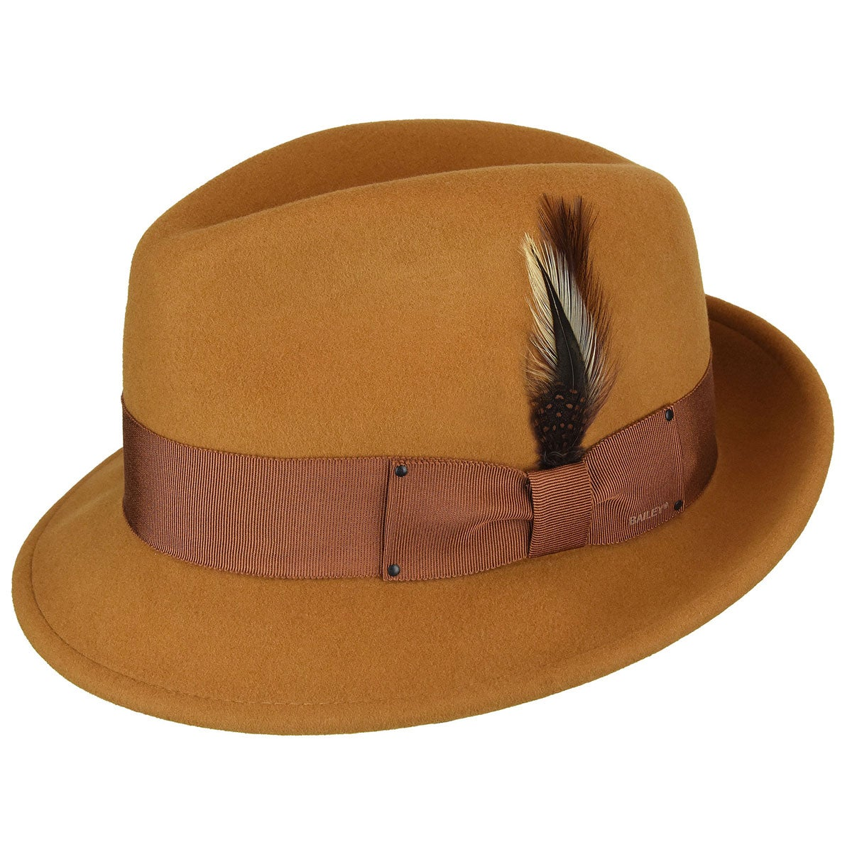 1960s – 70s Style Men's Hats Tino LiteFeltFedora $71.25 AT vintagedancer.com