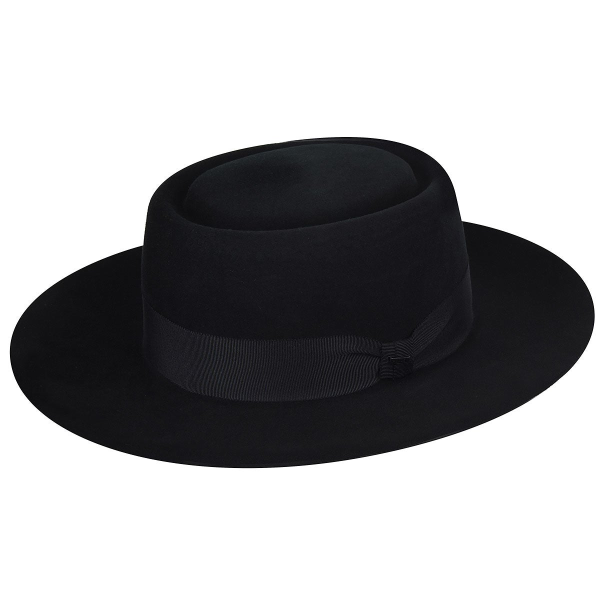 1940s Mens Hats | Fedora, Homburg, Porkpie Hats Walsh Elite Pork Pie $160.00 AT vintagedancer.com