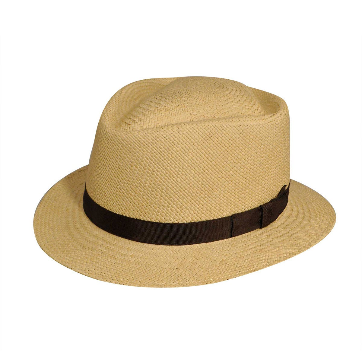 1950s Style Mens Clothing Rincon Stingy Brim Panama Fedora $95.00 AT vintagedancer.com